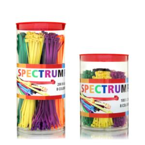 Farbig Kabelbinder Box